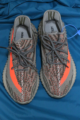 Ye*zy Boost 350 V2 Beluga 'Solar Red'