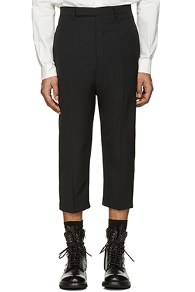 Ri*k O**ns WOOL Cropped Pants