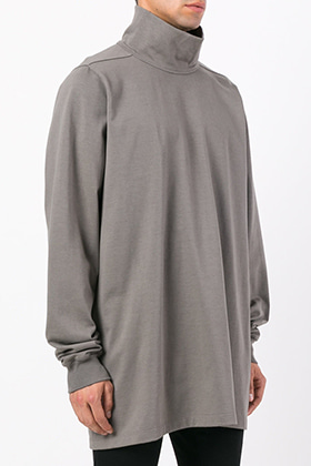 R Oversized Turtleneck T-shirts
