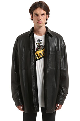 F.C Leather Shirts.st Jacket