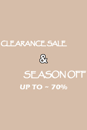 CLEARANCE SALE UP TO ~ 70%(필독 확인요망)
