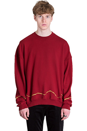 H.A. Oversized Embroidered Crewneck Sweatshits(RED,BLACK 제작중)