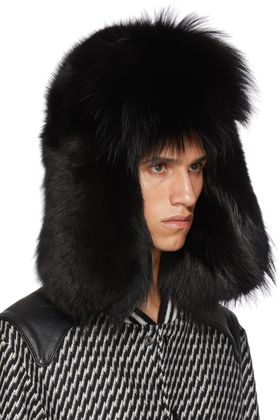 S Fox Fur Hat