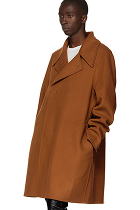 R Oversized Camel Hidden Button Handfinished Coat(두가지 컬러 의견 수렴중)
