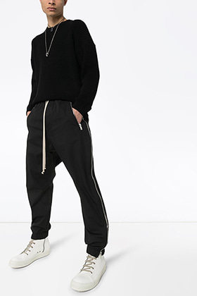 R Sideline Zipped Track pants