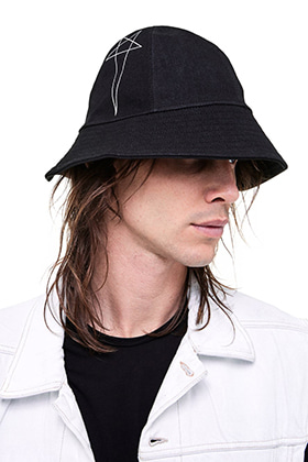 R Pentagram Point Bucket Hat