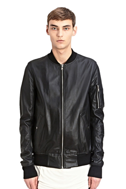 Ri*k O**ns Faux Leather MA-1(판매중)(CLEARANCE SALE 50% OFF)
